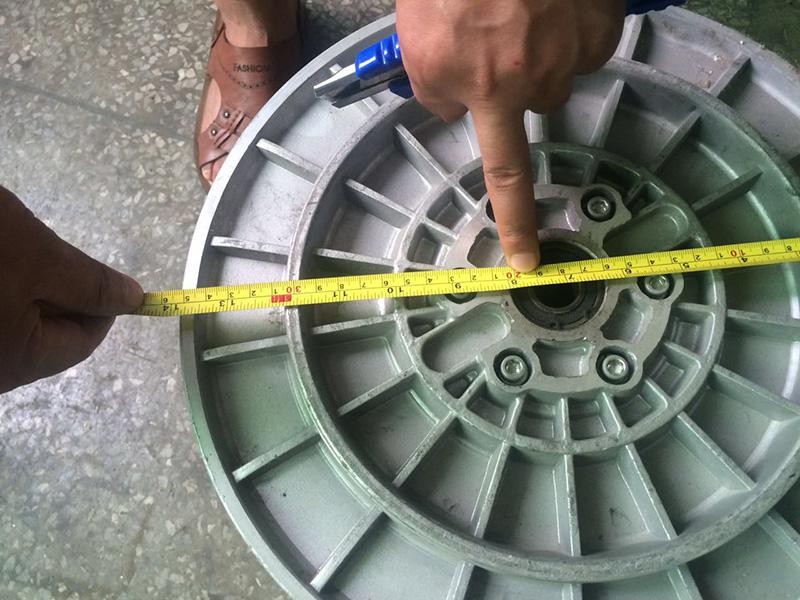 铝盘头 (织带机、电脑提花机用)